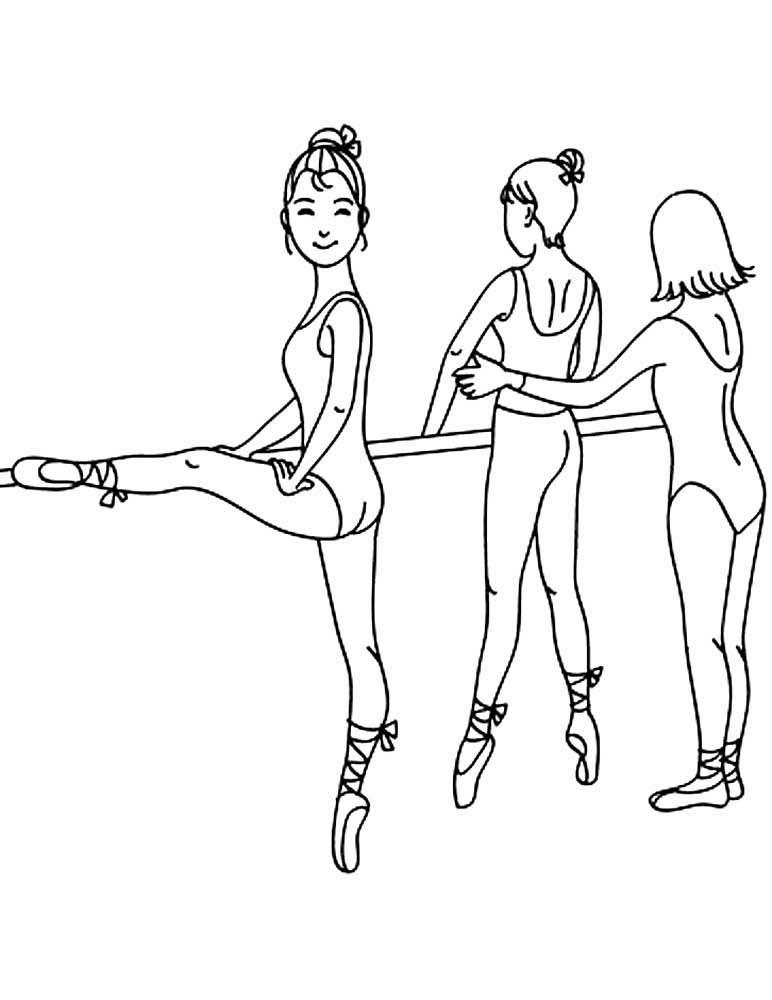 балерины у станка