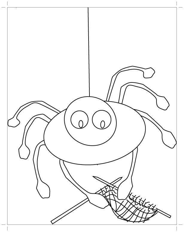 Мультяшный паук