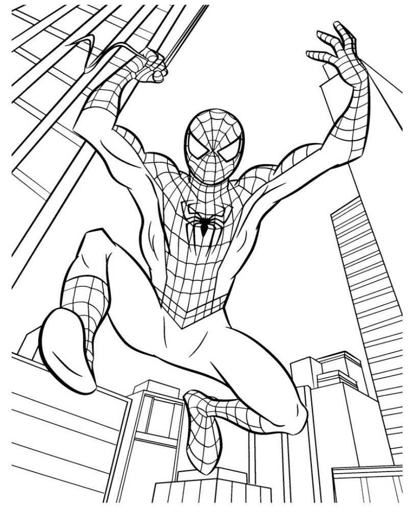 Человек-паук летит