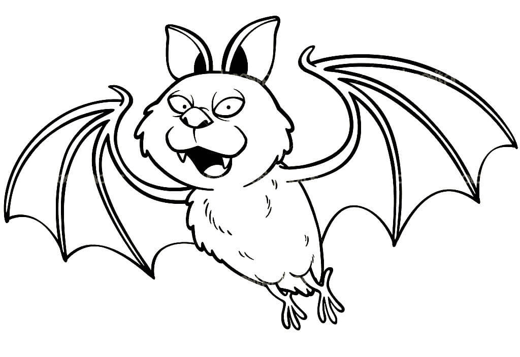 Радостная летучая мышь