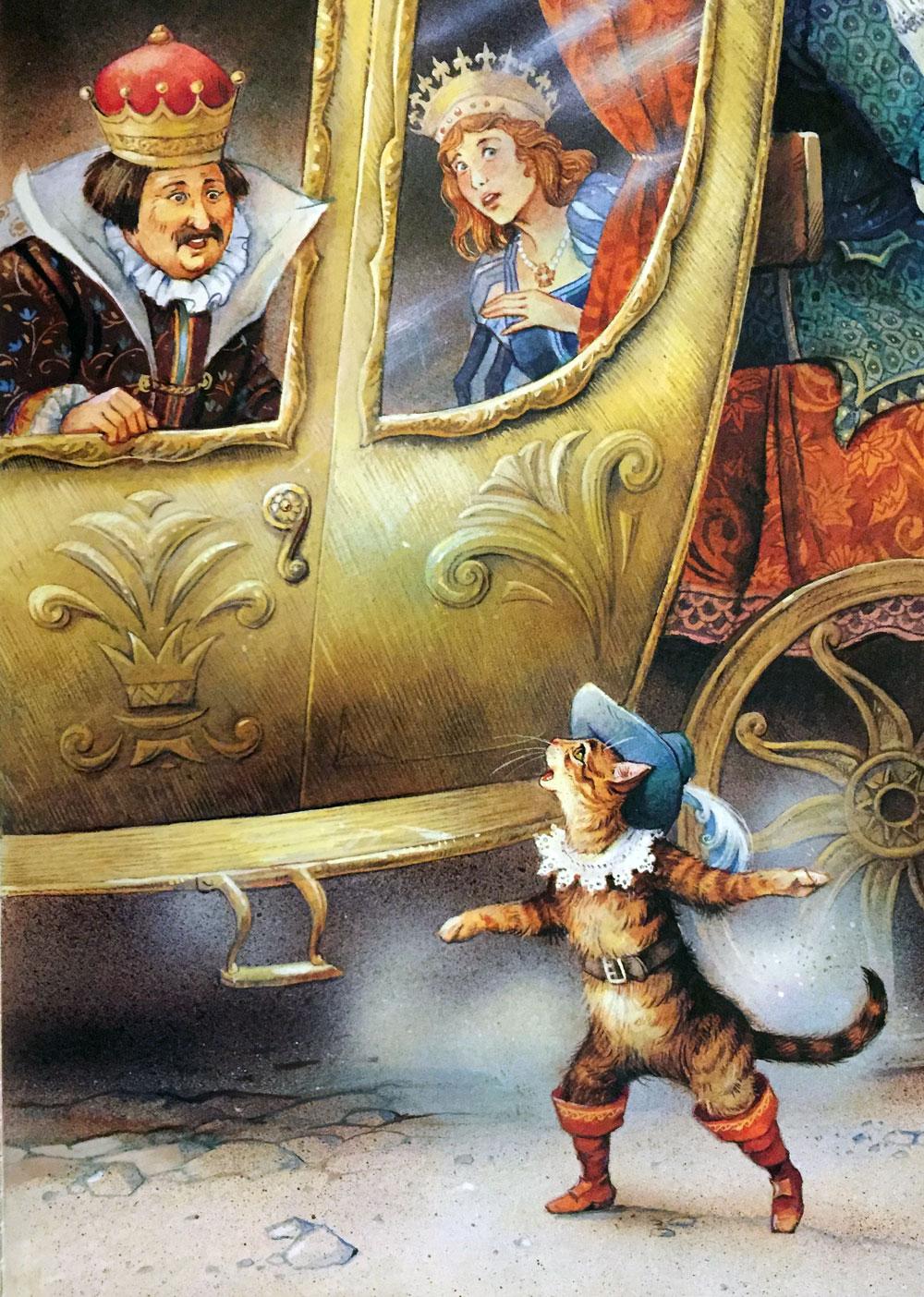 Кот у кареты