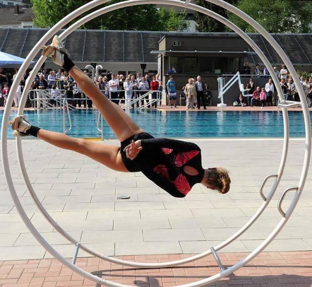 Рейнское колесо гимнастическое