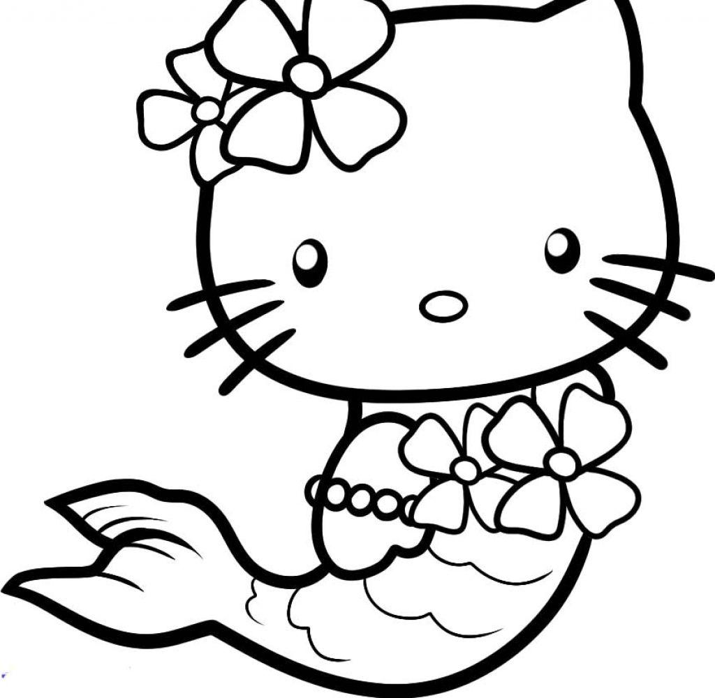Хелло Китти русалка