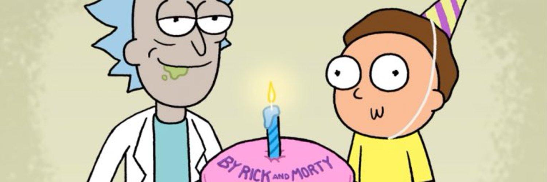 Рик поздравляет Морти