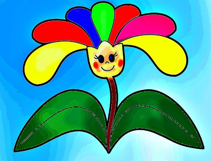 Цветик семицветик цветной