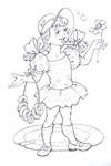 Раскраска цветик семицветик 8