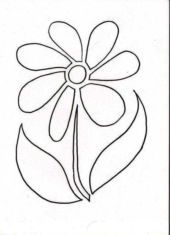 шаблон цветика семицветика 7