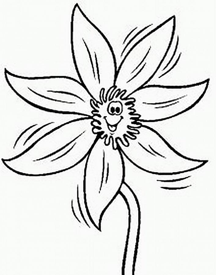 шаблон цветика семицветика 8
