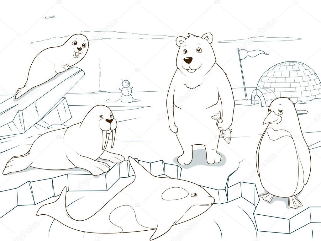 Пигвин с другими животными