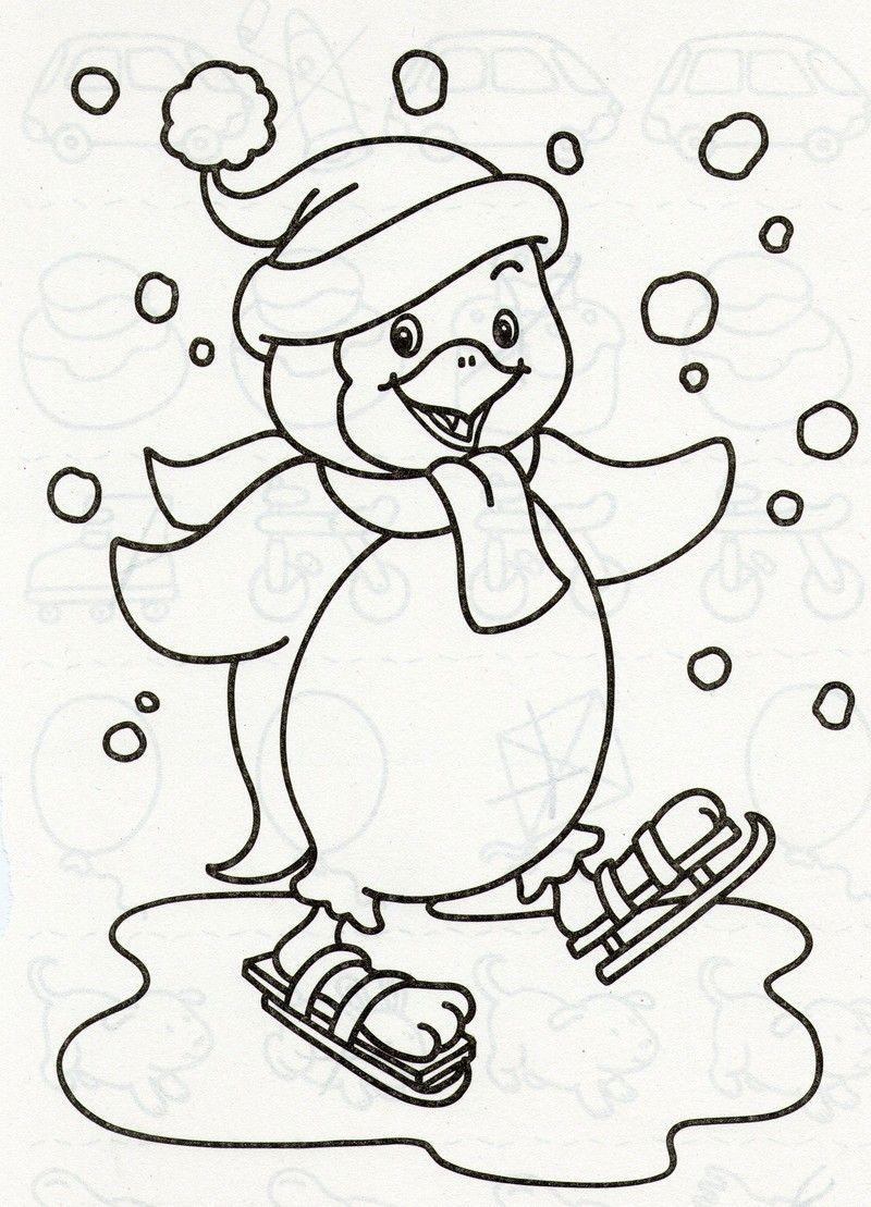 Мультяшный пингвин фото 10