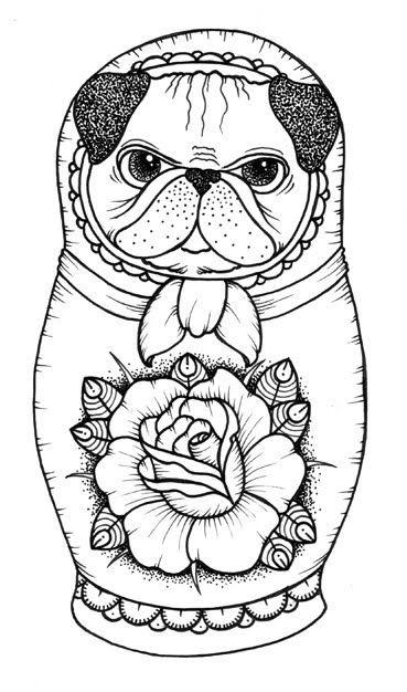 матрёшка собака