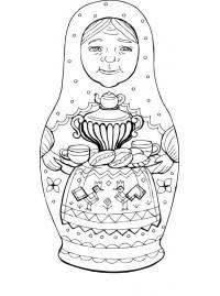 Сергиево-Посадская матрёшка