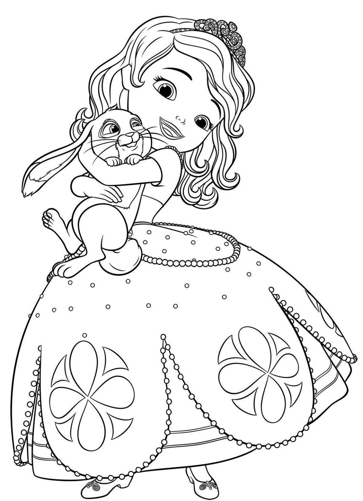 София с кроликом