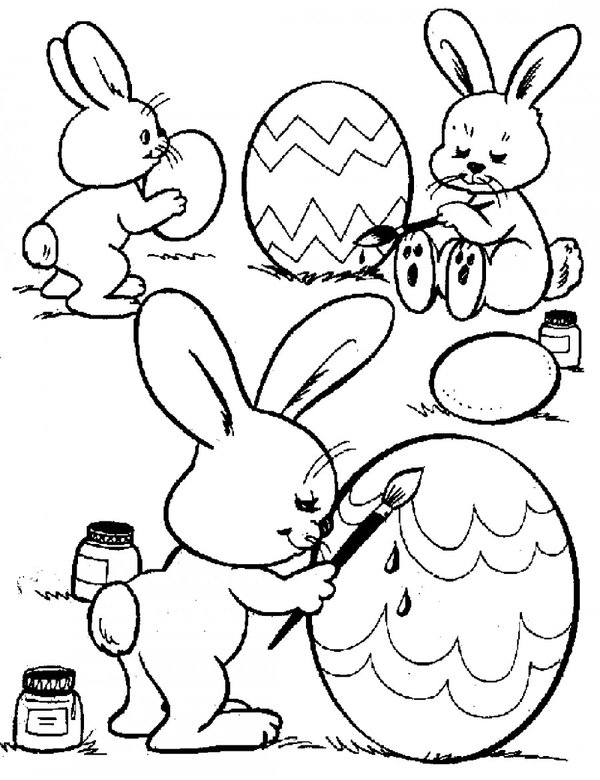 Пасхальные зайцы 4