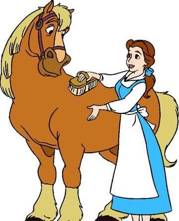 Белль и лошадь 7