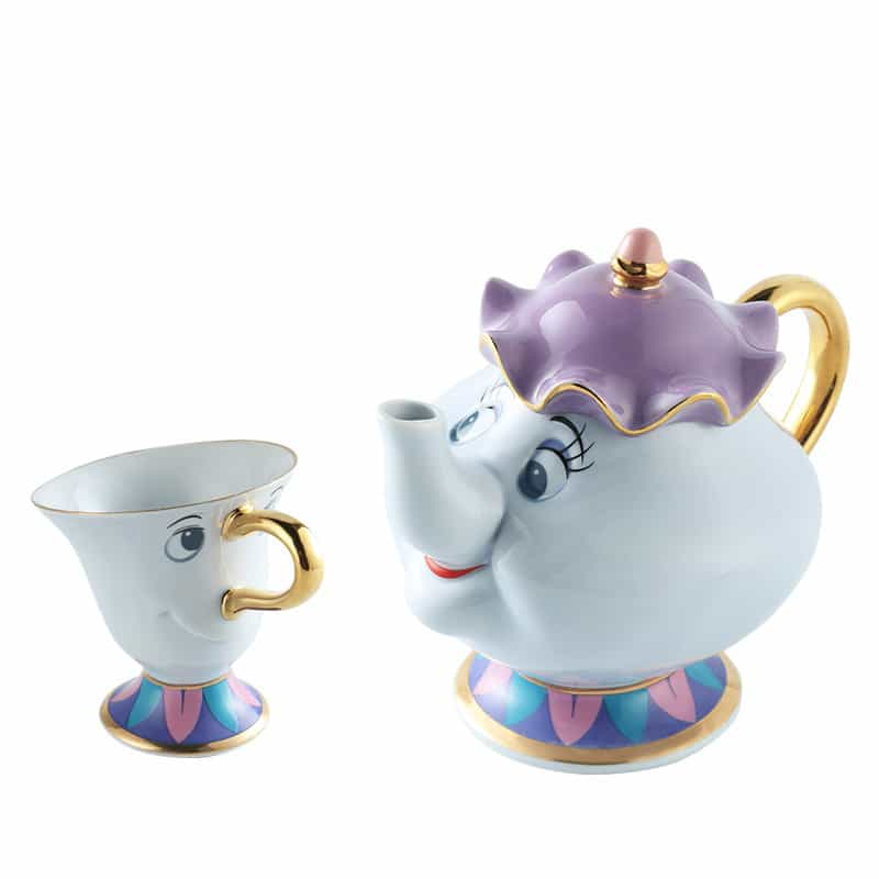 Кружка Чип и заварной чайник