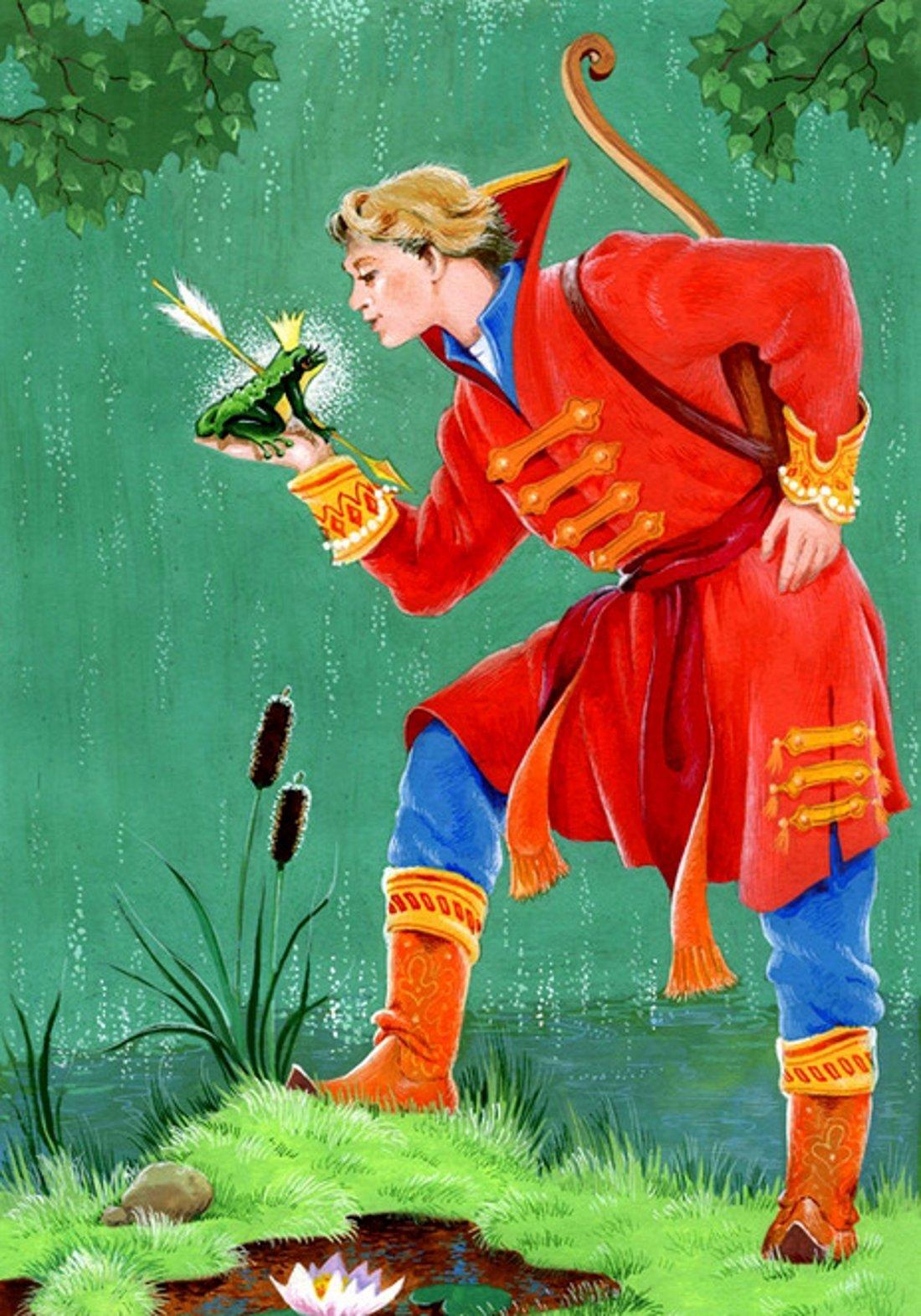 Иван царевич с лягушкой 44