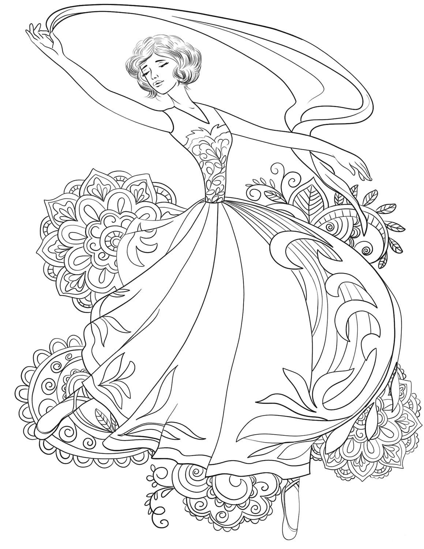 Хрупкая балерина 5