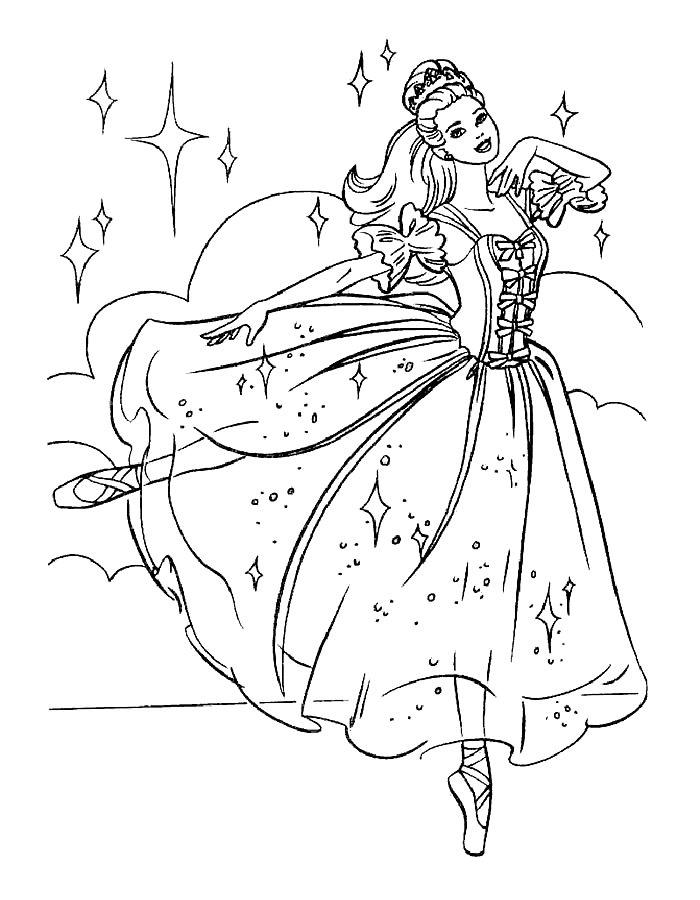 Барби танцует 73