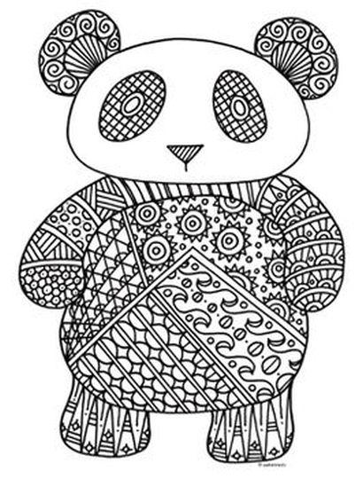 Маленький панда 11