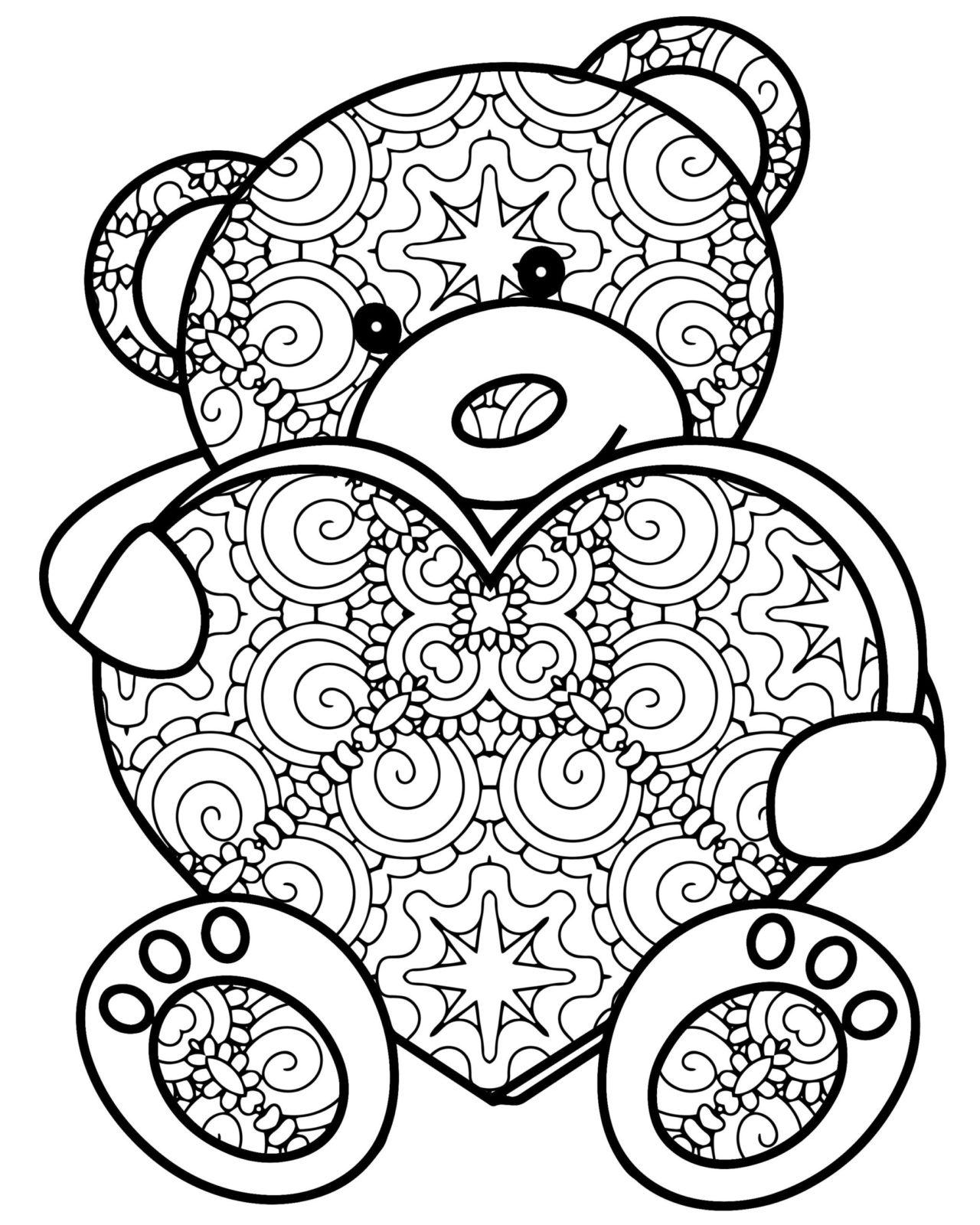 Мишка с сердечком 12