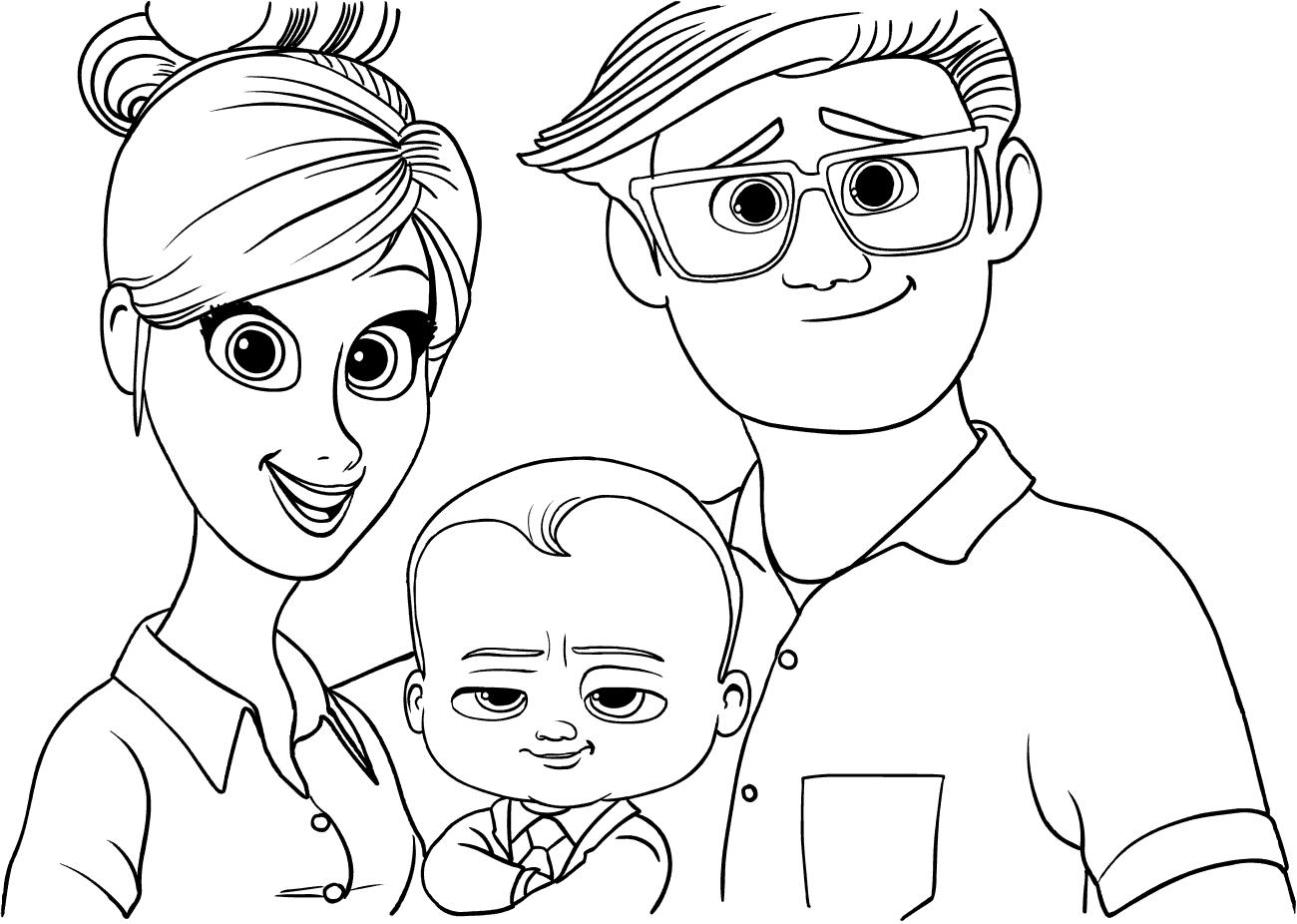 Босс-молокосос рисунок 3