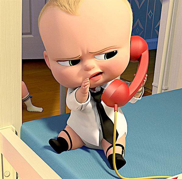 Босс-молокосос с телефоном