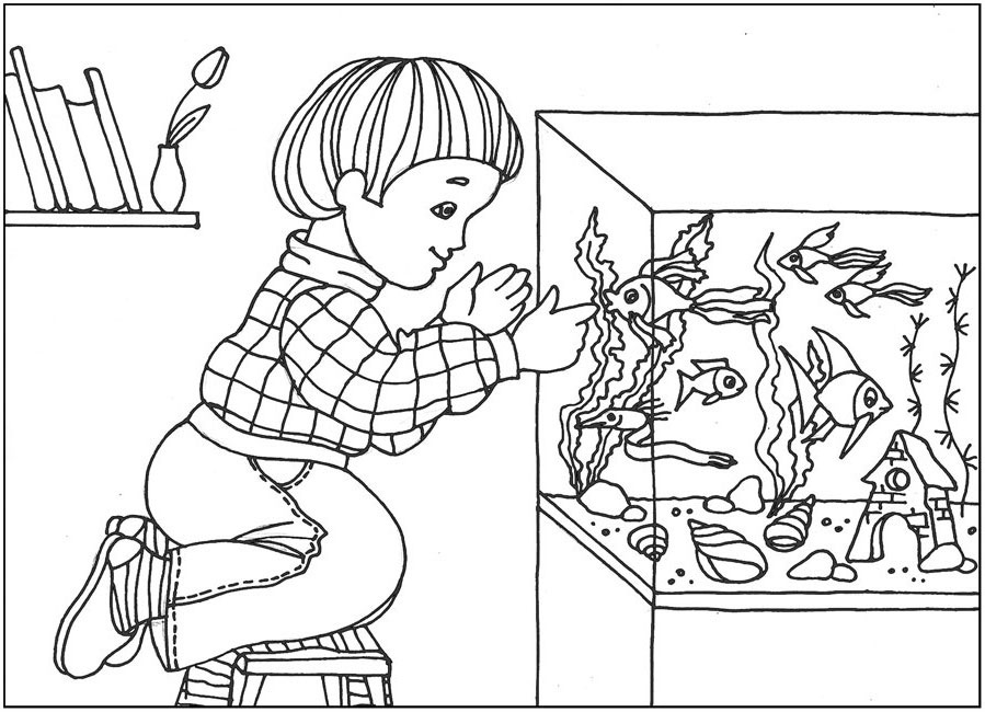 аквариум рисунок 41
