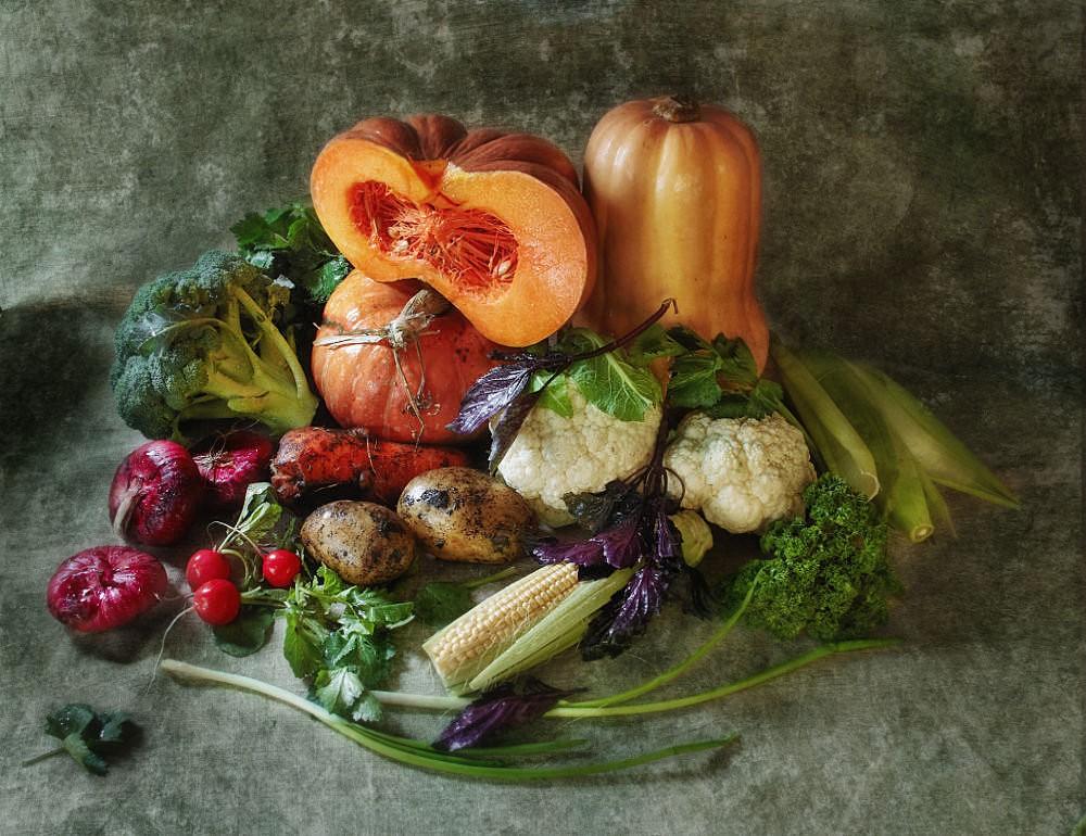 Овощи с тыквой 14