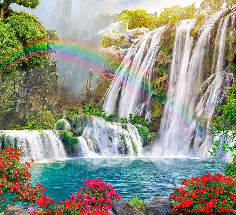 Обои водопад 20