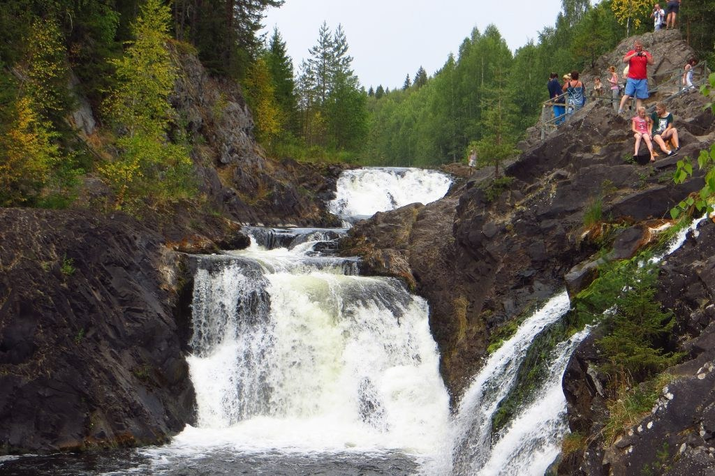 Водопад Кивач