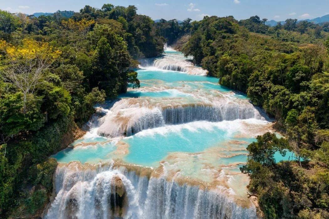 Водопад Агуа Асуль