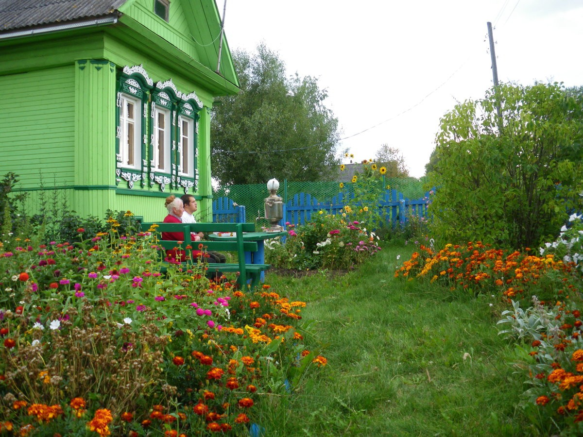 деревенский дворик 4