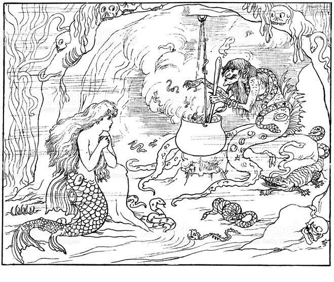 русалочка и ведьма 79