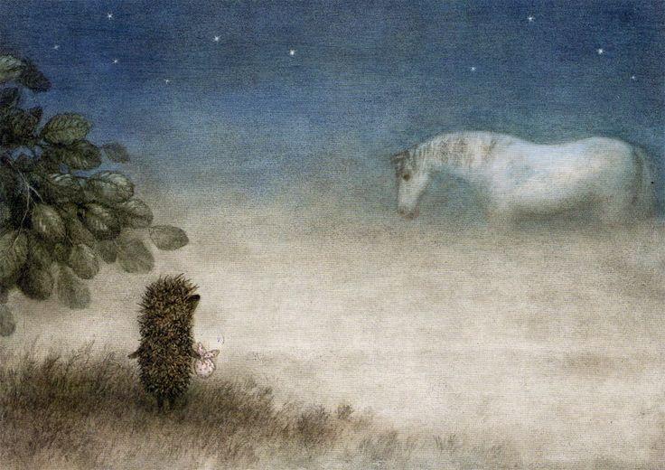 ёжик и белая лошадь 5