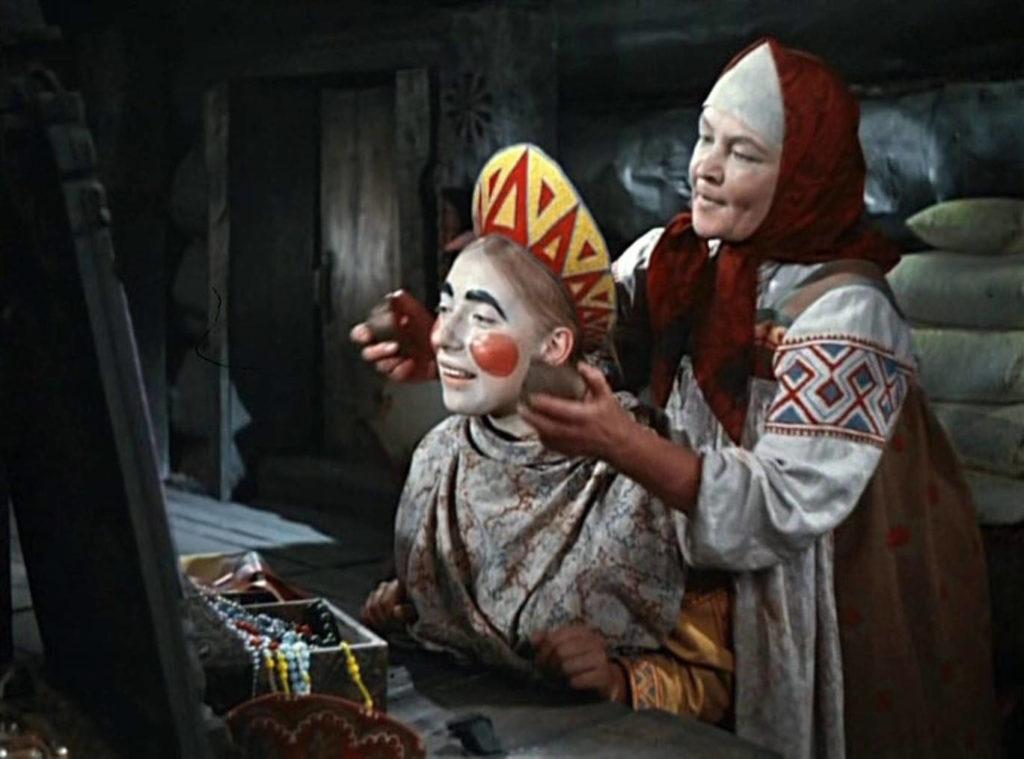 Мать и дочка Марфушенька