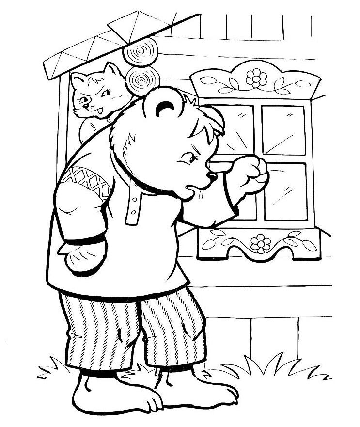 Стучит медведь в окно 46