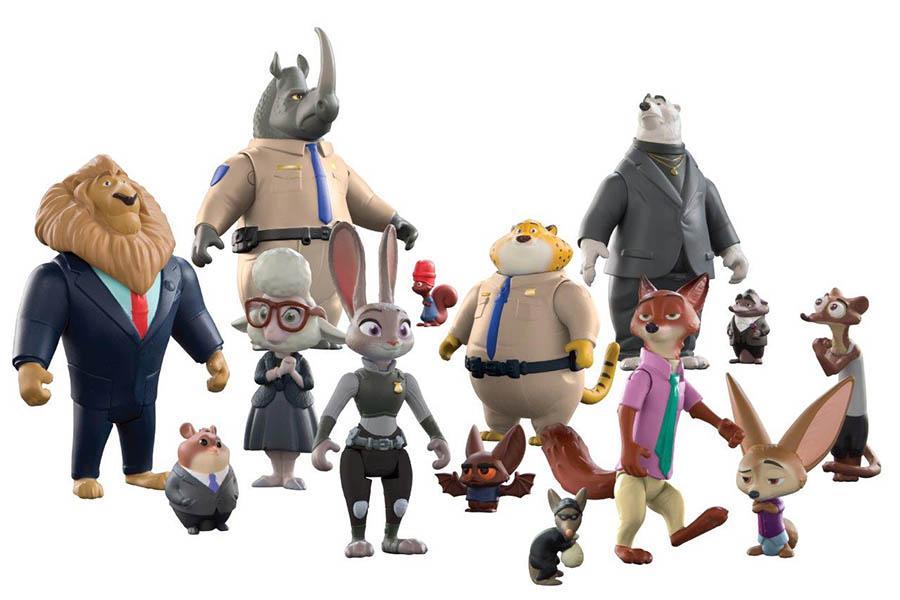 игрушки Зверополис 30