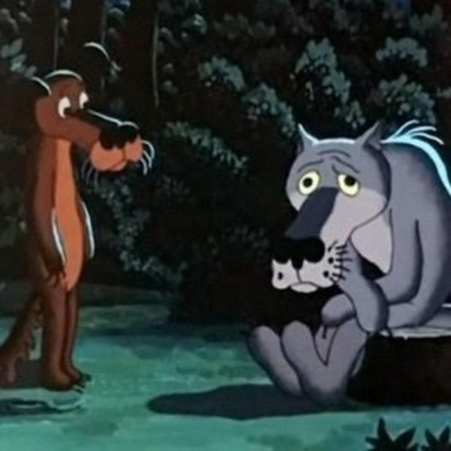 повстречал пёс волка