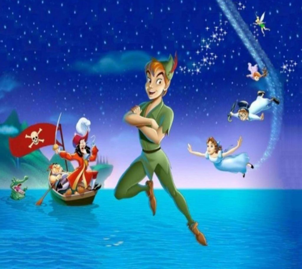 Питер Пэн с феями