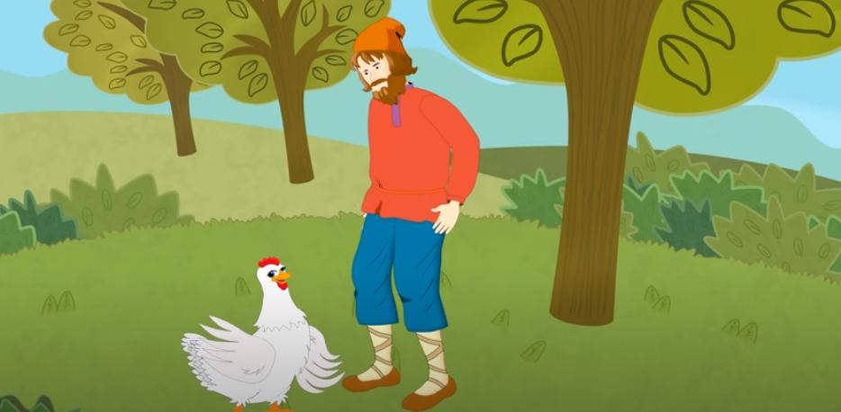 Курица и хозяин
