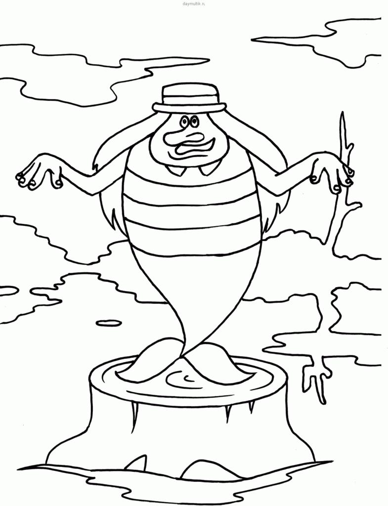 Раскраска Водяной 2
