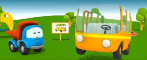 Фары автобуса 4