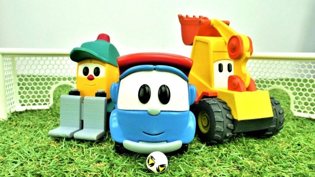 Игрушка грузовичок Лёва 50